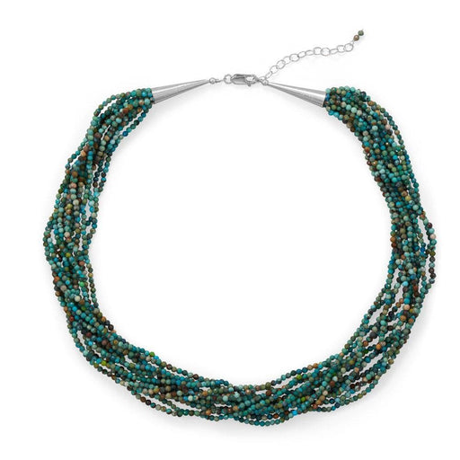 Necklaces Wow! Gorgeous Natural Turquoise Necklace angelucci-jewelry