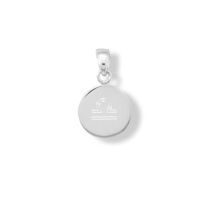 Pendants 13mm Round Engravable Tag angelucci-jewelry