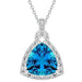 Pendants Aqua Illusion Pendant angelucci-jewelry