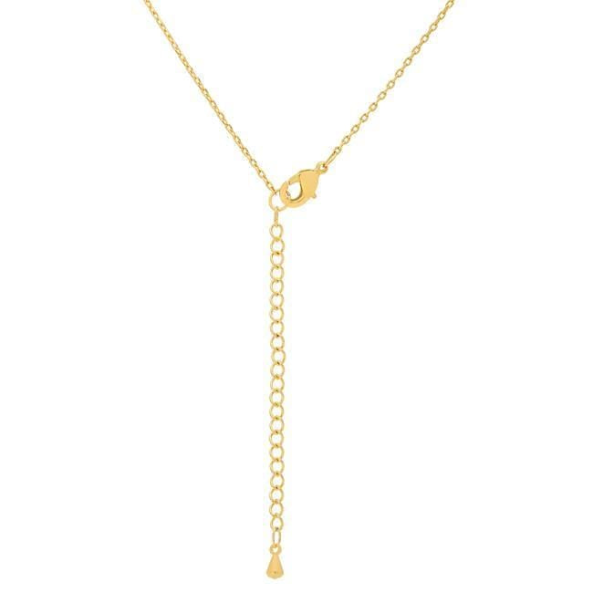 Pendants Golden Initial V Pendant angelucci-jewelry