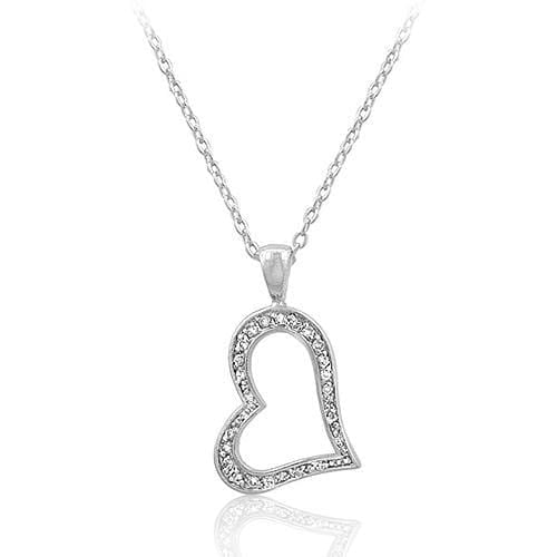 Pendants Heart Silhouette Pendant angelucci-jewelry