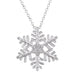 Pendants Large Snowflake Pendant angelucci-jewelry