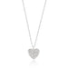 Pendants Pave Heart Pendant angelucci-jewelry
