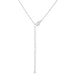 Pendants Rhodium Plated Finish Initial Z Pendant angelucci-jewelry