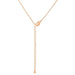 Pendants Rose Gold Finish Intiial Q Pendant angelucci-jewelry