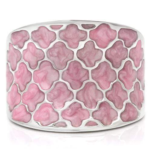 Ring Fiore d'Roma Wide Pink Band angelucci-jewelry