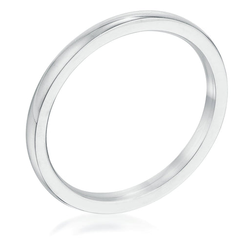 Rings 2 mm Stainless Steel Wedding Band angelucci-jewelry