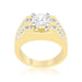 Rings Barracuda Cubic Zirconia Ring angelucci-jewelry