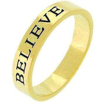 Rings Believe Fashion Band angelucci-jewelry