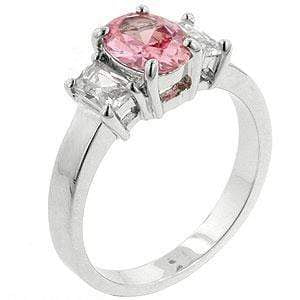 Rings Blossom CZ Cubic Zirconia Engagement Ring angelucci-jewelry
