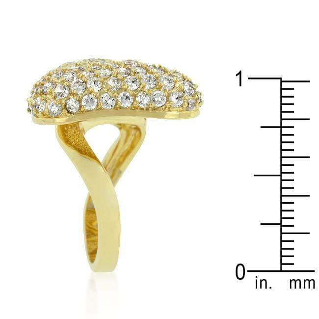 Rings Bow Tie Cubic Zirconia Ring angelucci-jewelry