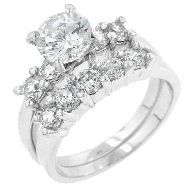 Rings Classic Wedding Set angelucci-jewelry