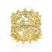 Rings Golden Filigree Eternity Band angelucci-jewelry