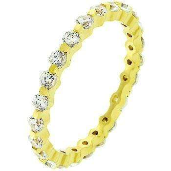 Rings Golden Lace Eternity Band angelucci-jewelry