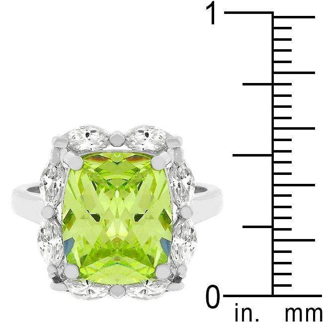 Rings Marquise Framed Apple Green Ring angelucci-jewelry