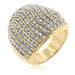 Rings Pave Crystal Cocktail Ring angelucci-jewelry