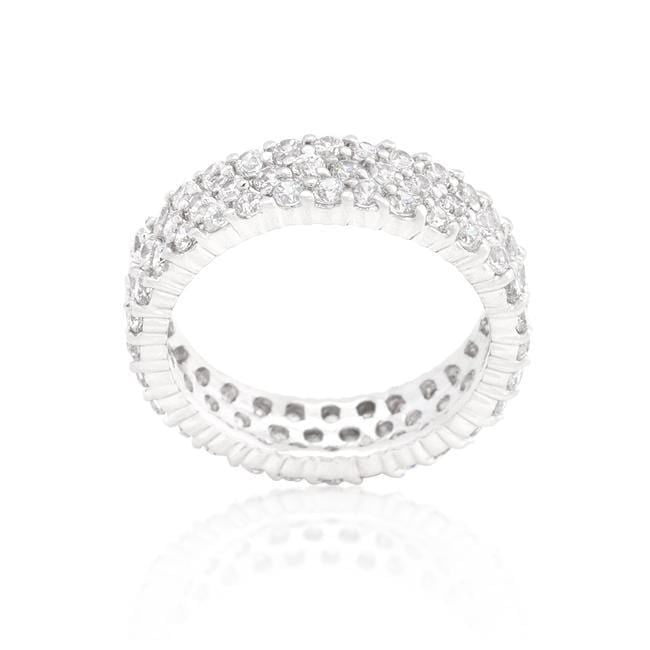 Rings Pave Eternity Ring angelucci-jewelry
