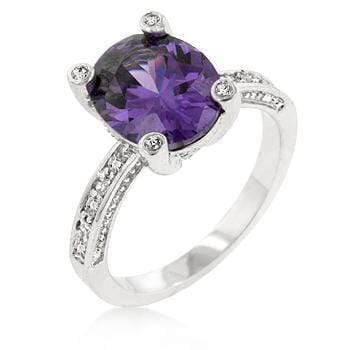 Rings Purple Anniversary Ring angelucci-jewelry