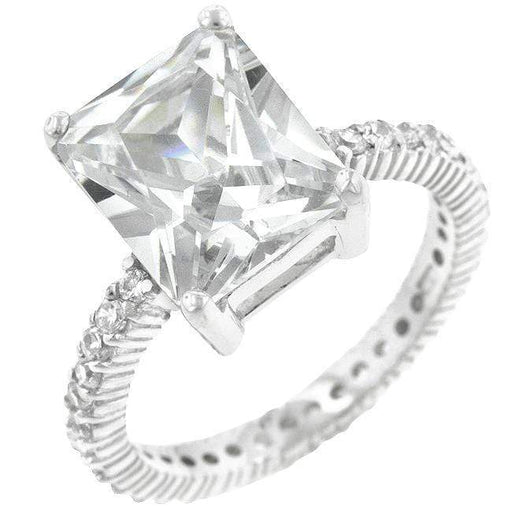 Rings Radiant Cut Engagement Ring angelucci-jewelry