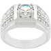 Rings Rock Solid Cubic Zirconia Ring angelucci-jewelry