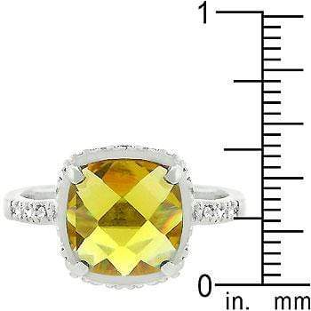 Rings Rose-Cut Canary Ring angelucci-jewelry