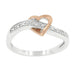 Rings Rose Heart Band angelucci-jewelry
