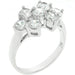 Rings Round Cubic Zirconia Cluster Ring angelucci-jewelry