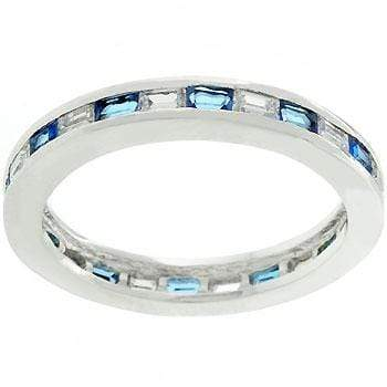Rings Sapphire Eternity Ring angelucci-jewelry