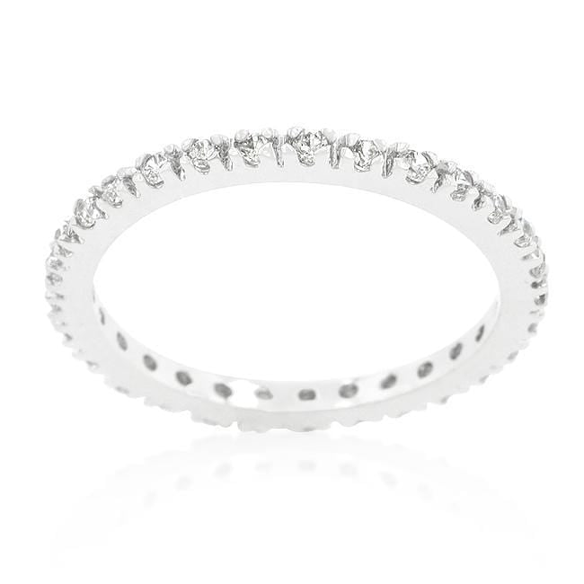 Rings Simple Eternity Band angelucci-jewelry