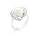 Rings Single Pearl Cocktail Ring angelucci-jewelry