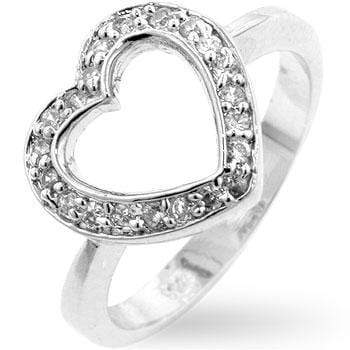 Rings Sterling Heart Ring angelucci-jewelry