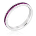 Rings Stylish Stackables with Amethyst Crystal Ring angelucci-jewelry