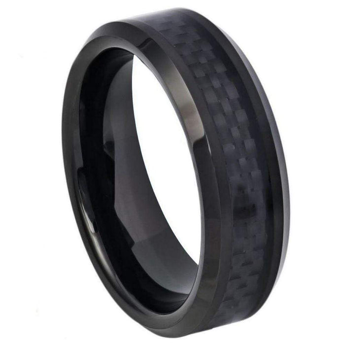 Rings The Ebony - 6mm angelucci-jewelry
