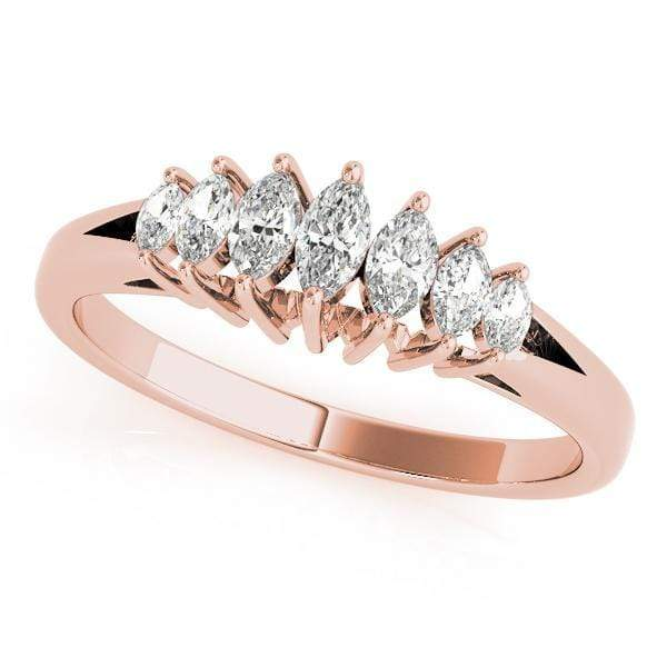 angelucci-jewelry-1/3-Carat Marquise Shape Split-Shank Diamond Wedding Ring