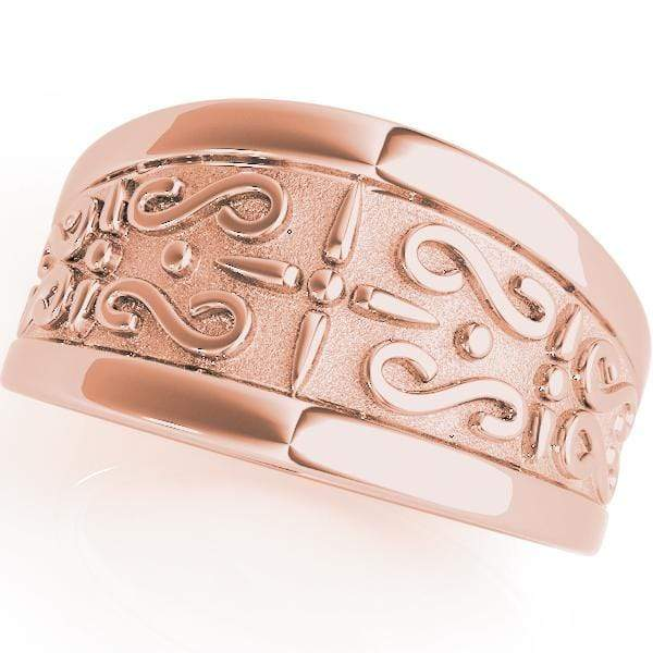 Wedding Bands 14kt / Pink Wedding Bands Gold Bands angelucci-jewelry
