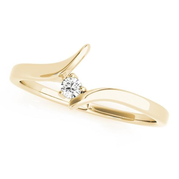Wedding Bands 14kt / Yellow Wedding Bands Curved Bands angelucci-jewelry