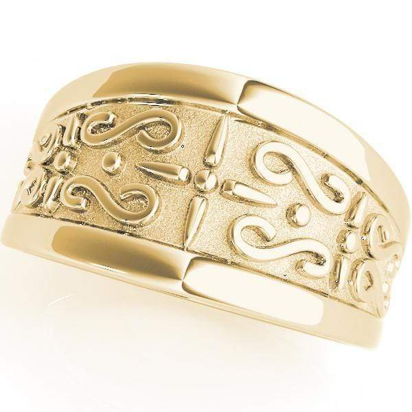 Wedding Bands 14kt / Yellow Wedding Bands Gold Bands angelucci-jewelry