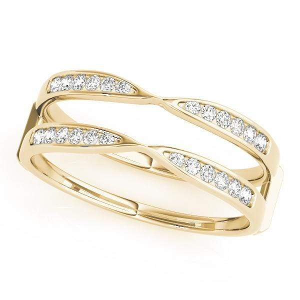 Wedding Bands 14kt / Yellow Wedding Bands Wraps & Inserts angelucci-jewelry