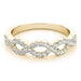 angelucci-jewelry-3/8-Carat Round Brilliant Shape Infinity Diamond Wedding Ring