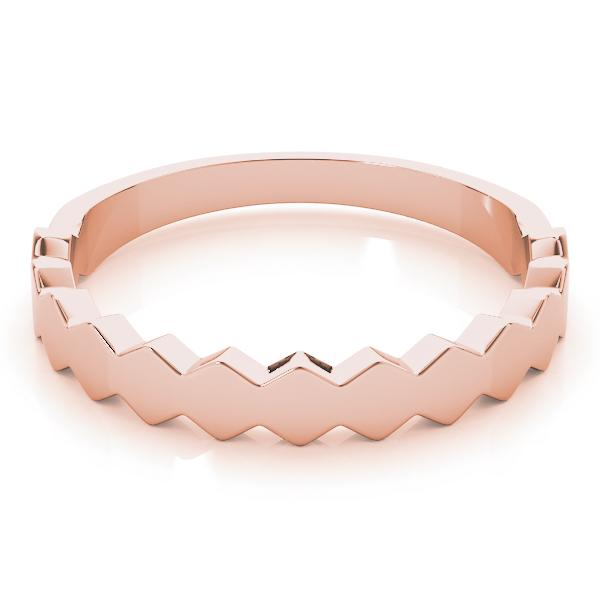 angelucci-jewelry-Sawtooth-Style 14-Karat Stackable Wedding Ring