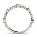 angelucci-jewelry-3/8-Carat Round Brilliant Shape Bezel-Set Stackable Diamond Wedding Ring