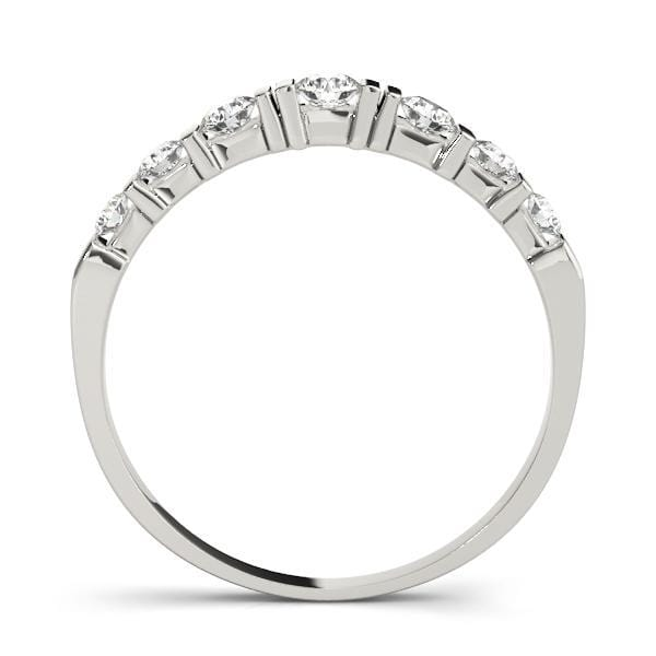 Wedding Bands Wedding Bands Bar Set angelucci-jewelry