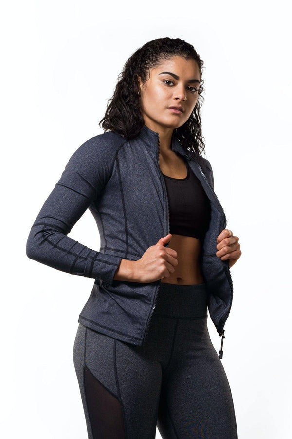 Grey Active Jacket