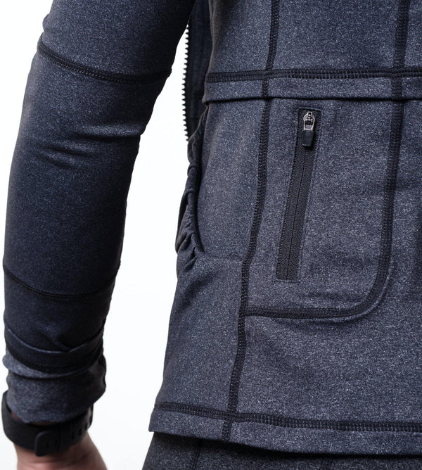Kamili Jacket Back Pocket Grey