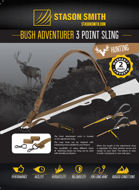 Bush Adventurer 3 Point Sling