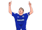 Super Frankie Lampard-Clothing-LAST MINUTE WINNER-[football shirt]-[football canvas]-[legend]-LAST MINUTE WINNER
