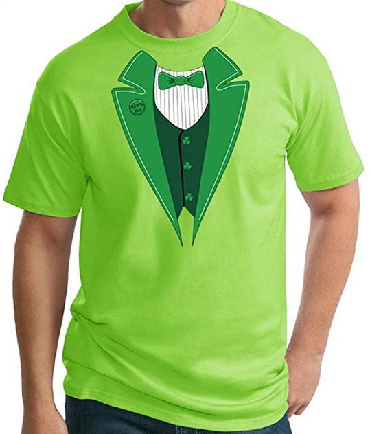 a33daf14d MENS ST. PATRICKS DAY TUXEDO SHIRT – Array Avenue