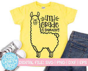 Llama School SVG Cut File Bundle