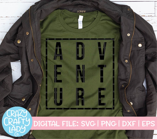 Adventure SVG Cut File