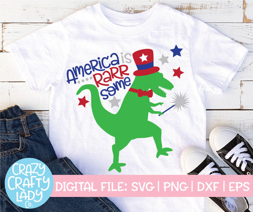 America Is Rarrsome SVG Cut File